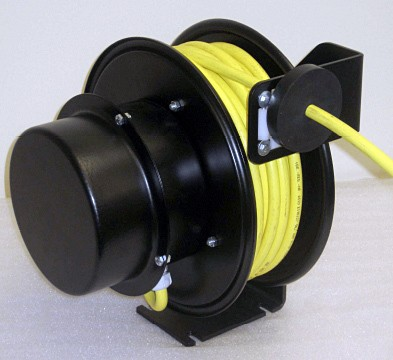 Enrouleur de câble électrique industriel