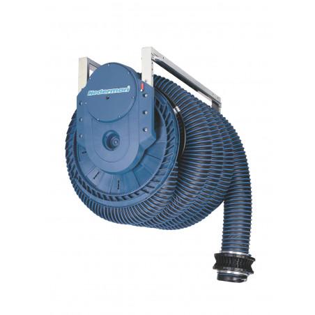 Enrouleur automatique d'extraction de gaz d'échappement 865 - 7,5m 100mm
