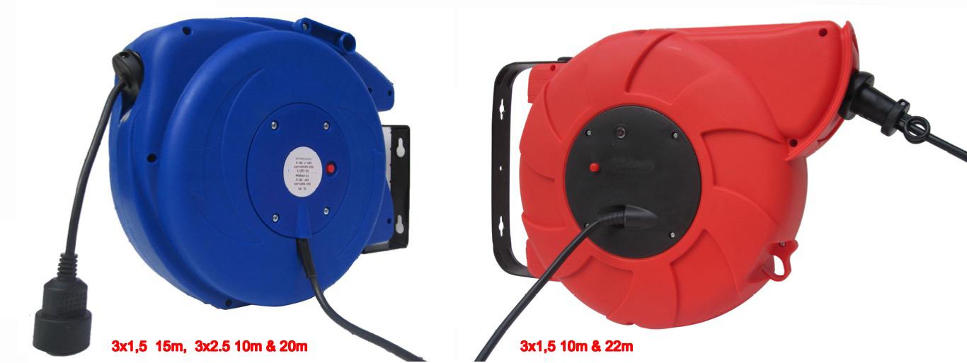 Enrouleur de câble électrique 3G2,5